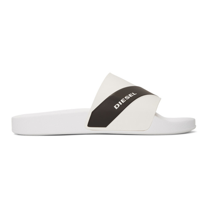 Photo: Diesel White Logo Sa-Maral Slides