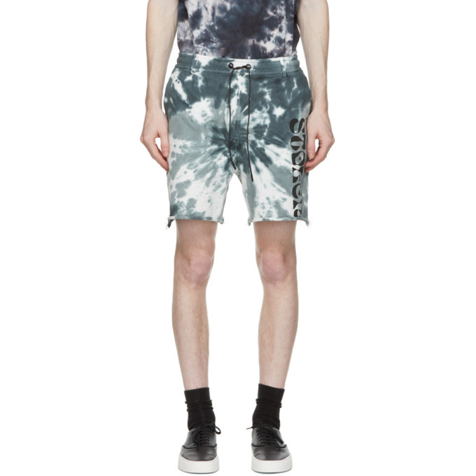 Photo: Stolen Girlfriends Club Blue Tie-Dye Arch Hill Shorts