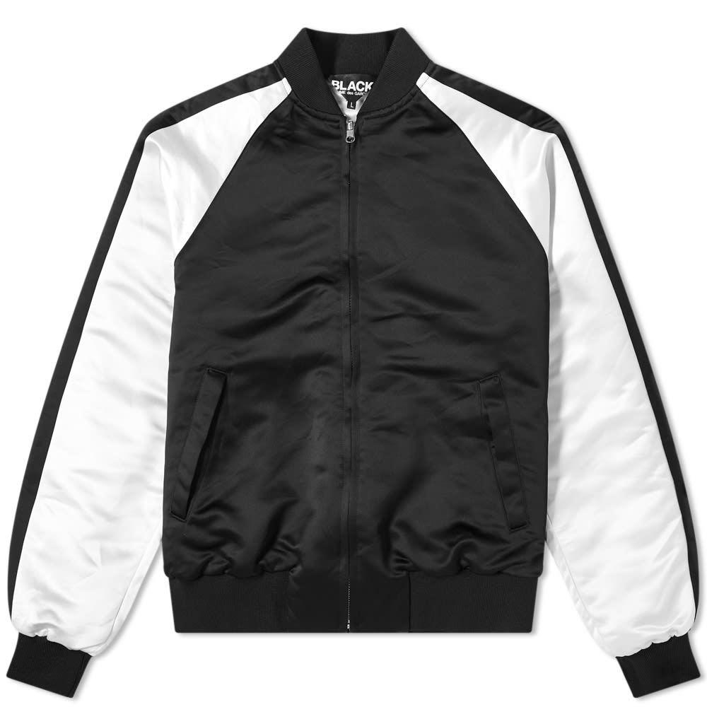Photo: Comme des Garçons Black Reversible Crinkled Souvenir Jacket
