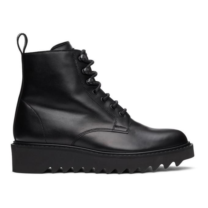 Photo: Giuseppe Zanotti Black Nevada Boots