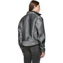 GmbH Silver Raw Denim Cem Jacket