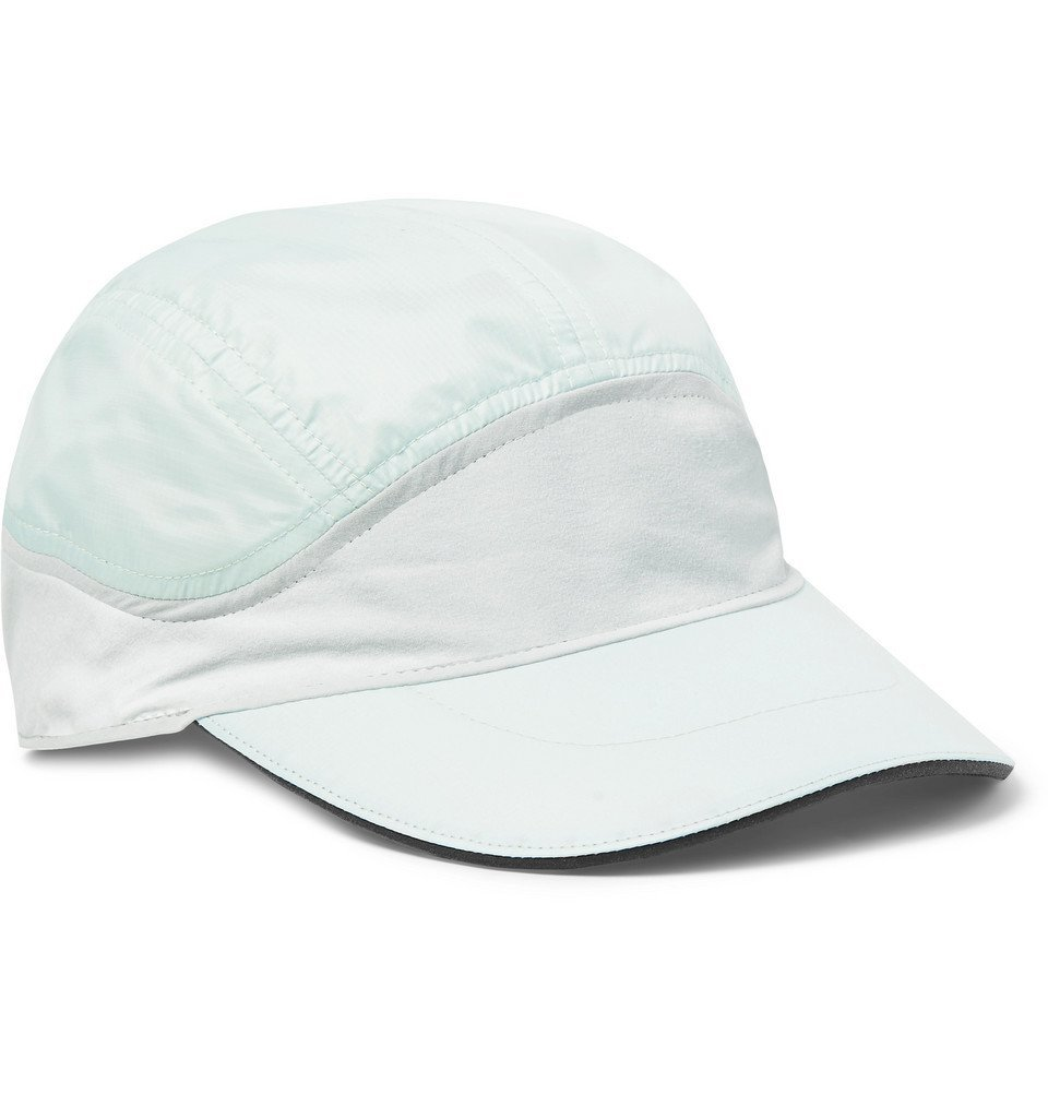 Nike Running - Aerobill Ripstop and Fleece Panelled Baseball Cap - Cream