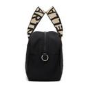 Stella McCartney Black ECONYL® Medium Boston Bag