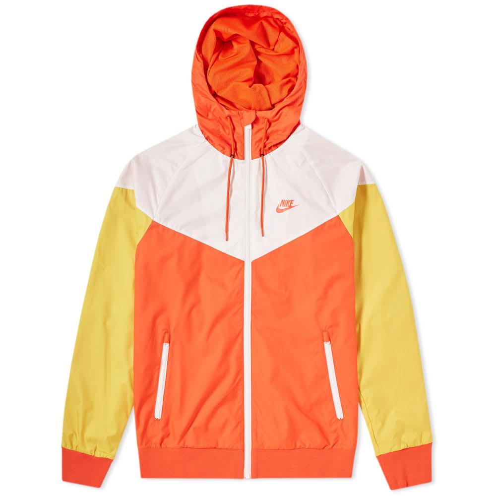 arrastrar puerta Ceniza  Nike Windrunner Jacket Orange NikeLab