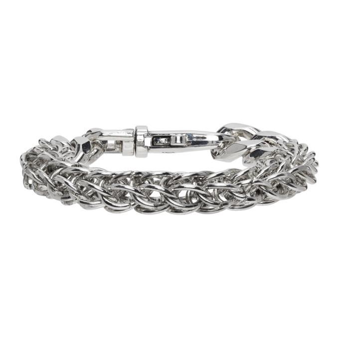 Photo: Martine Ali Silver Python Link Bracelet