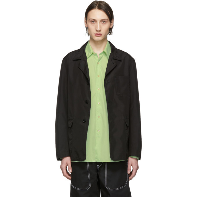 Photo: Nanamica Black Coverall Jacket