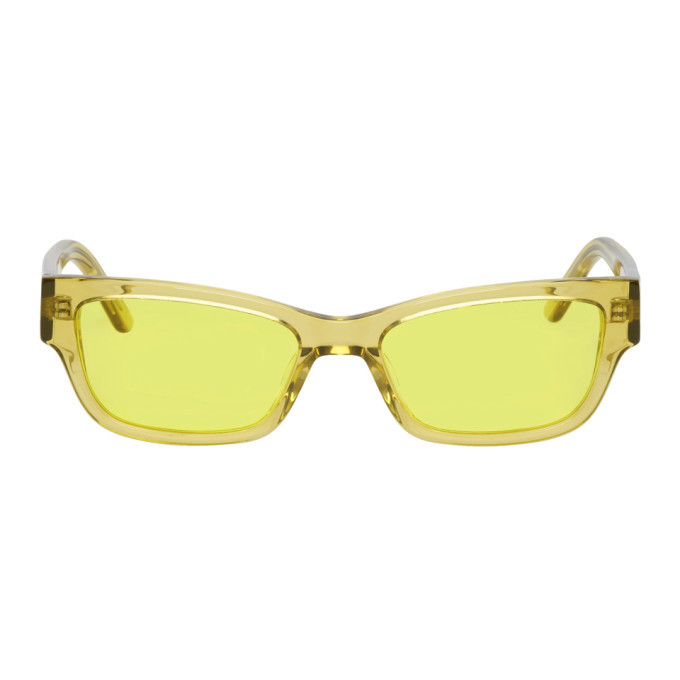 Photo: Han Kjobenhavn Yellow Transparent Moon Sunglasses