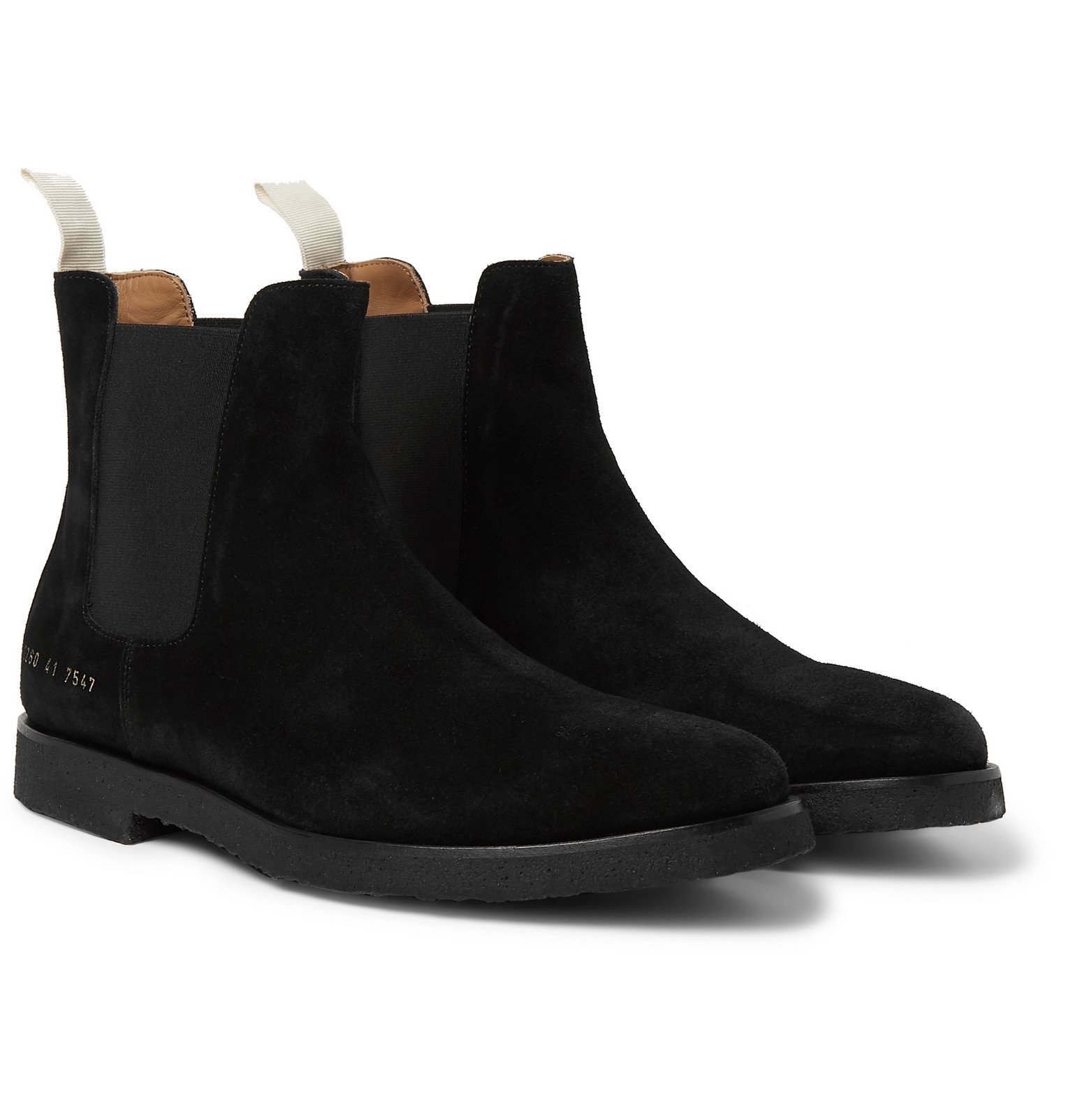 Photo: Common Projects - Suede Chelsea Boots - Black