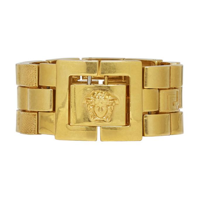 Photo: Versace Gold Watchlink Bracelet