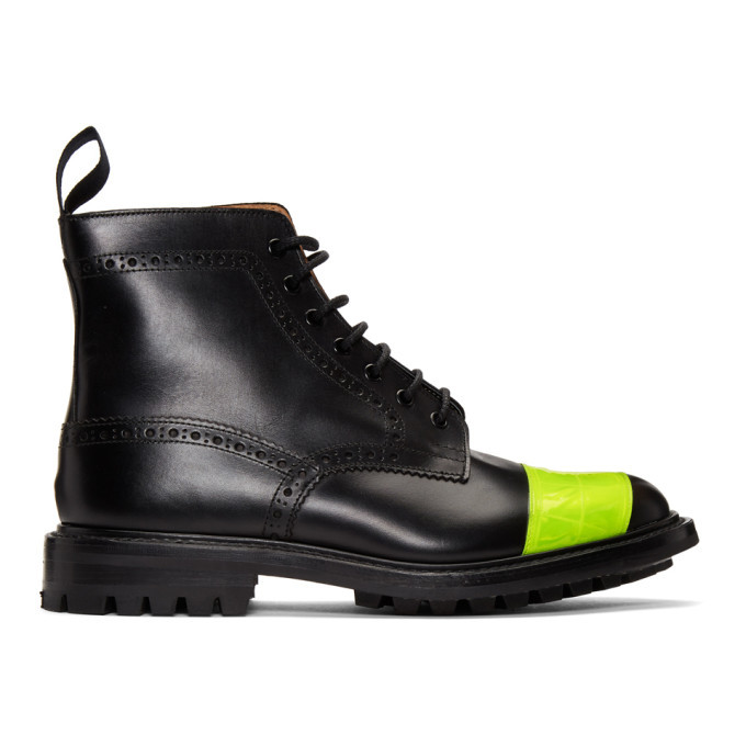 Photo: Junya Watanabe Black Trickers Edition Brogue Boots