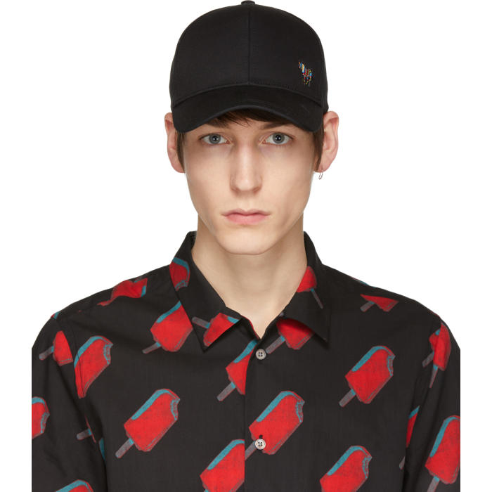 PS by Paul Smith Black Zebra Baseball Cap PS by Paul Smith f41aa707d53