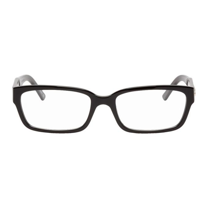Photo: Balenciaga Black Rectangle Glasses