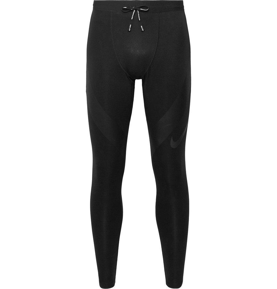 Nike Running - Tech Printed Power Dri-FIT Tights - Black