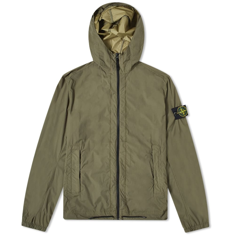 Photo: Stone Island Skin Touch Hooded Jacket
