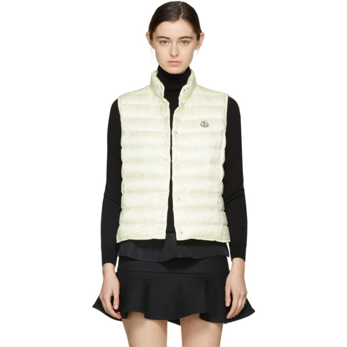 Photo: Moncler Off-White Down Liane Vest