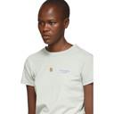 Acne Studios Green Tight Logo T-Shirt