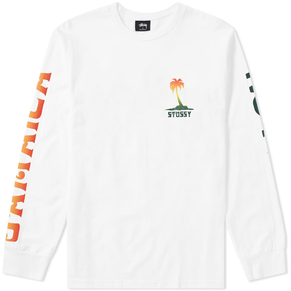 Photo: Stussy Long Sleeve Jamaica NP Tee