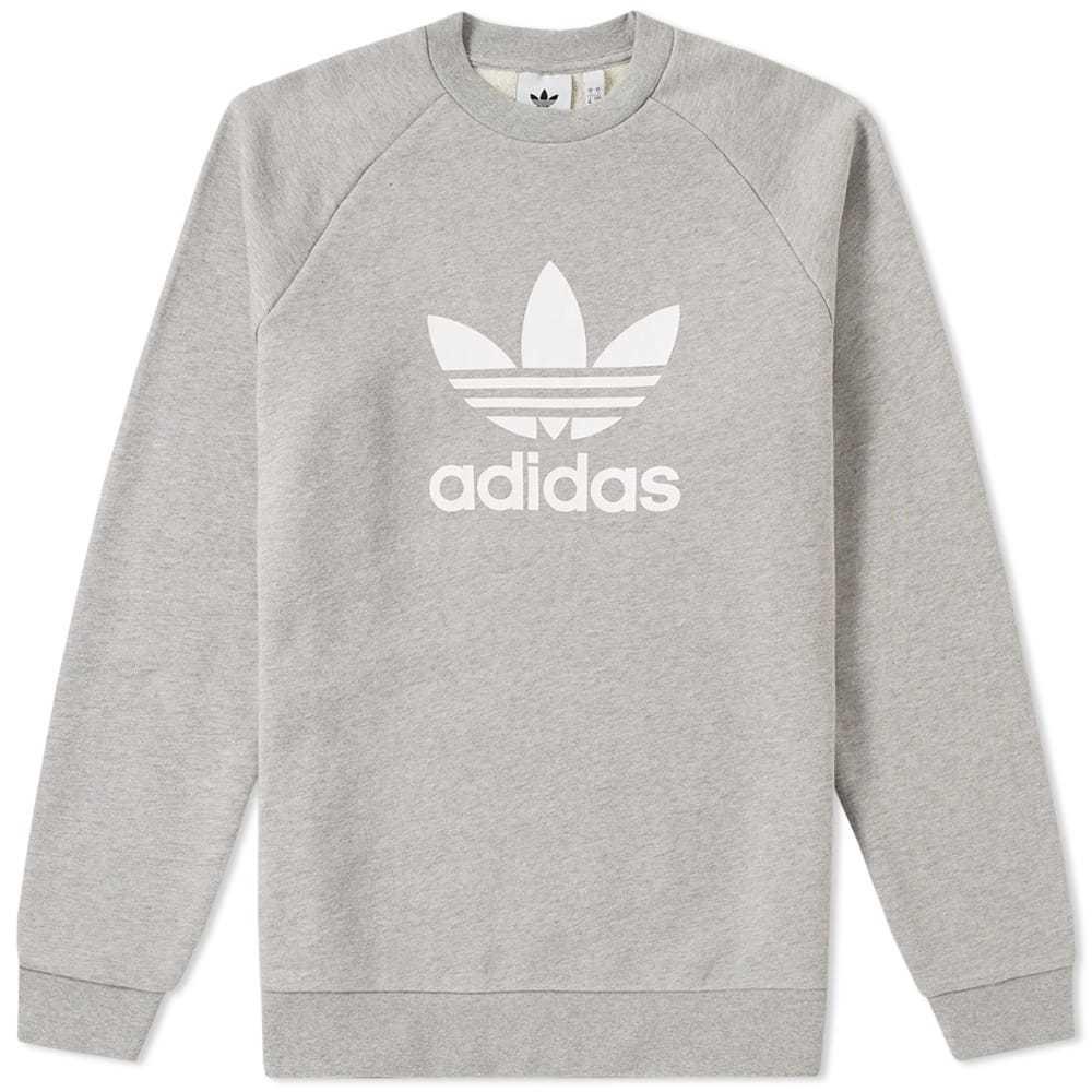 Adidas Trefoil Crew Sweat Grey