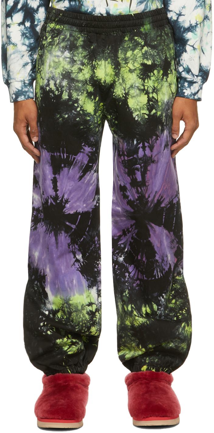Aries Multicolor Tie-Dye Track Pants