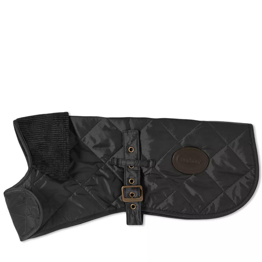 Photo: Barbour Quilted Dog Coat