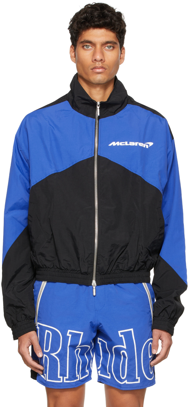 Photo: Rhude Black McLaren Edition Flight Jacket