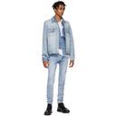 Ksubi Blue Denim Classic Karma Jacket