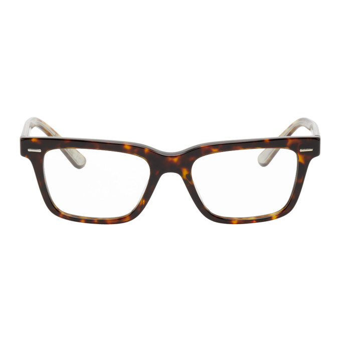 Photo: The Row Brown Square Glasses