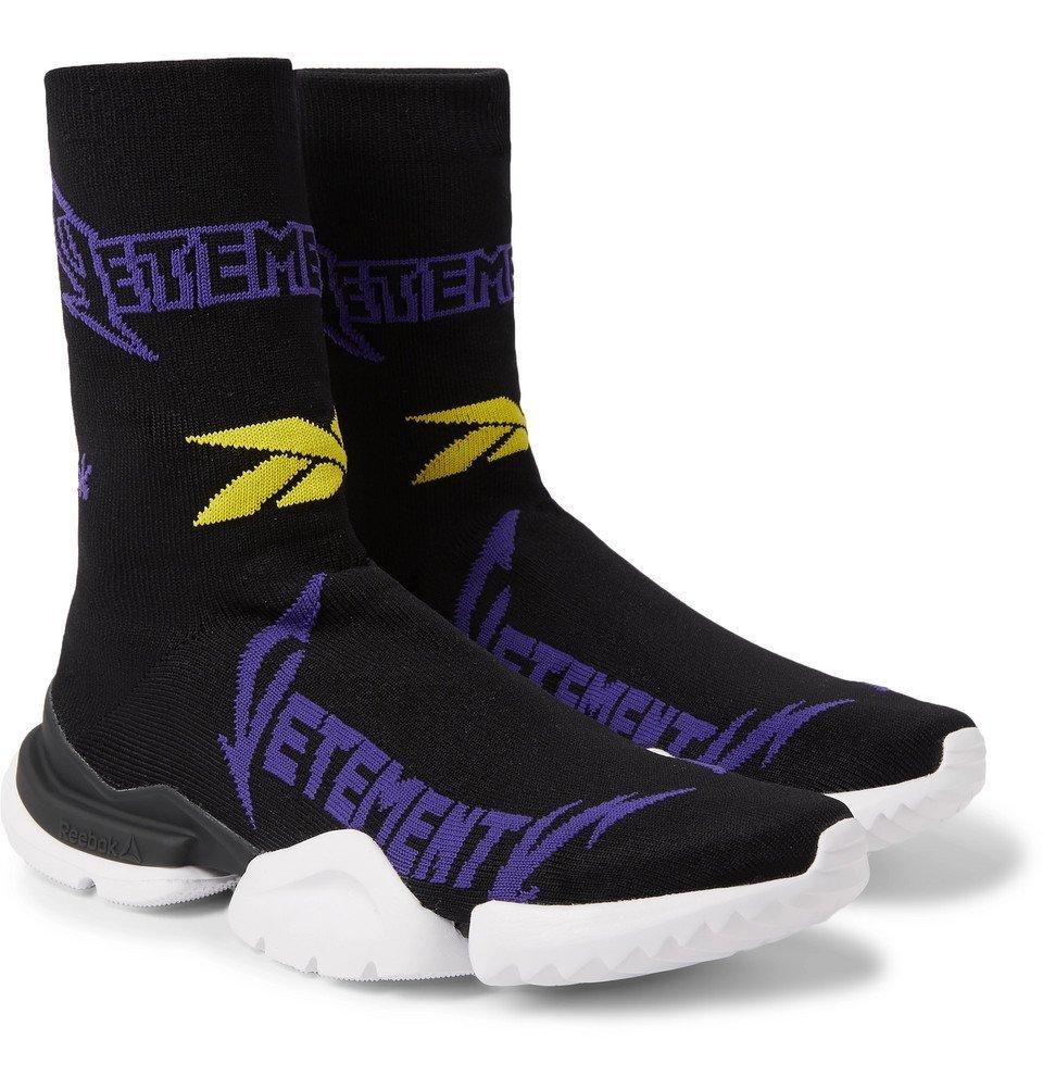 Reebok Sock Pump Logo-Jacquard Stretch