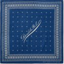 RRL - Benson Printed Cotton-Voile Bandana - Blue