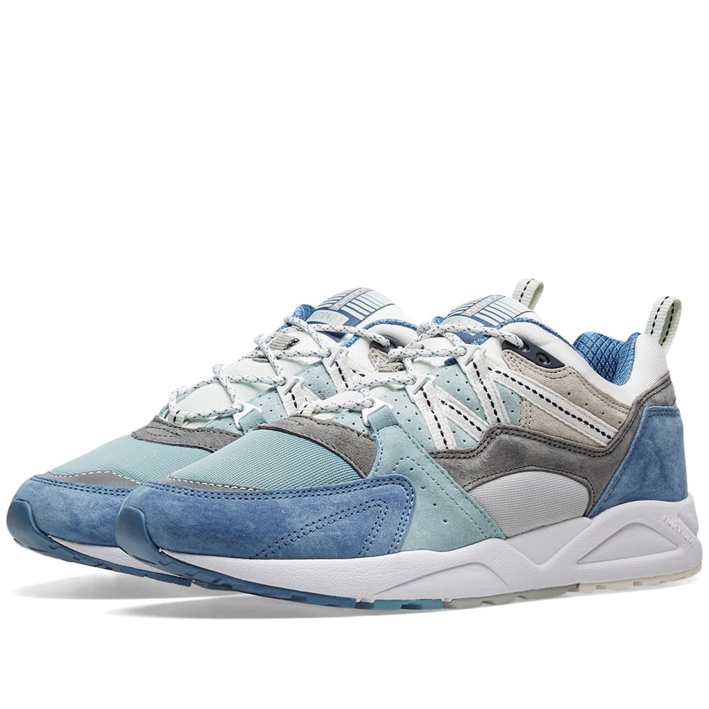 Photo: Karhu Fusion 2.0 Lunar Rock & Moonlight Blue