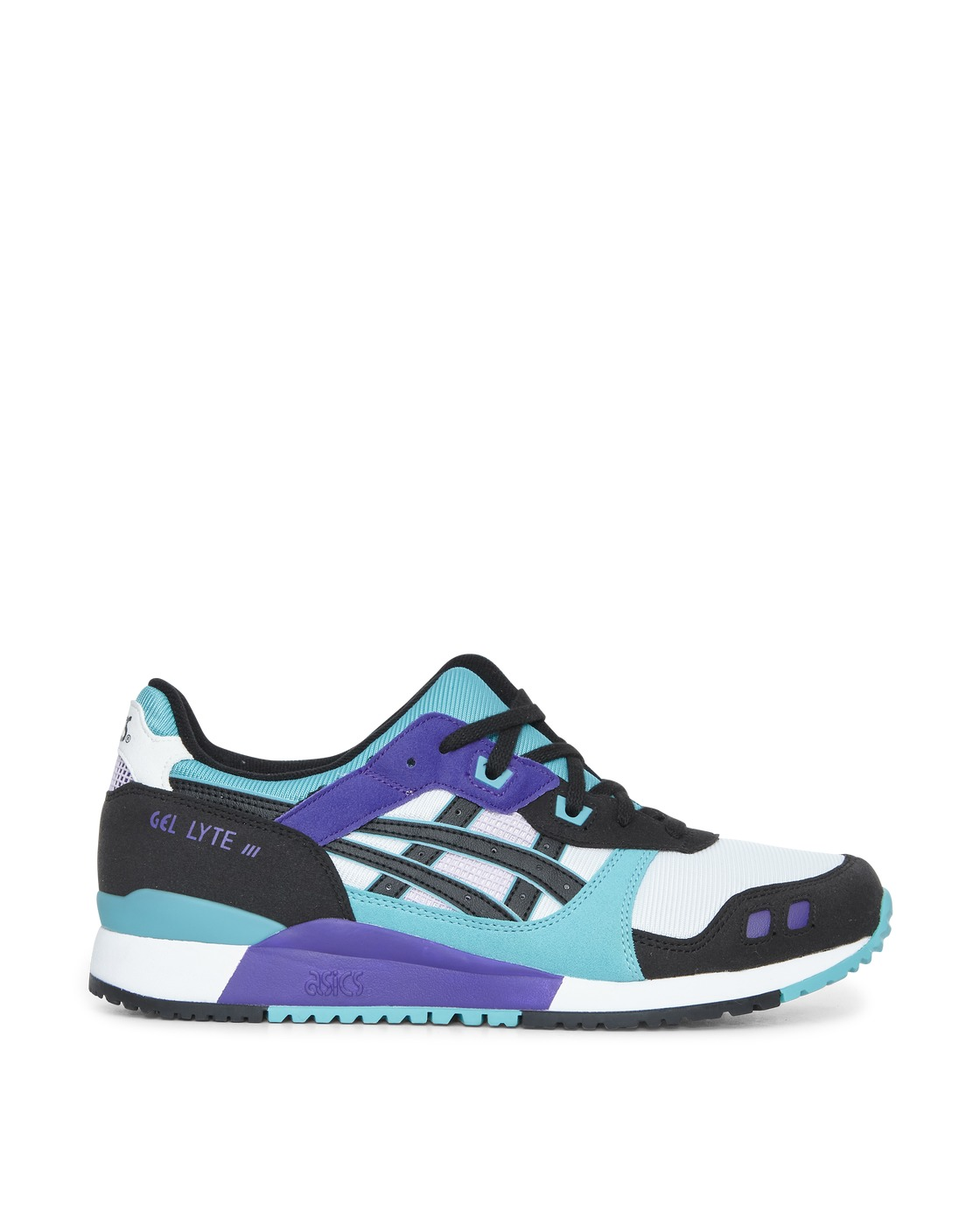 Photo: Asics Gel Lyte Iii Og Sneakers White/Techno Cyan
