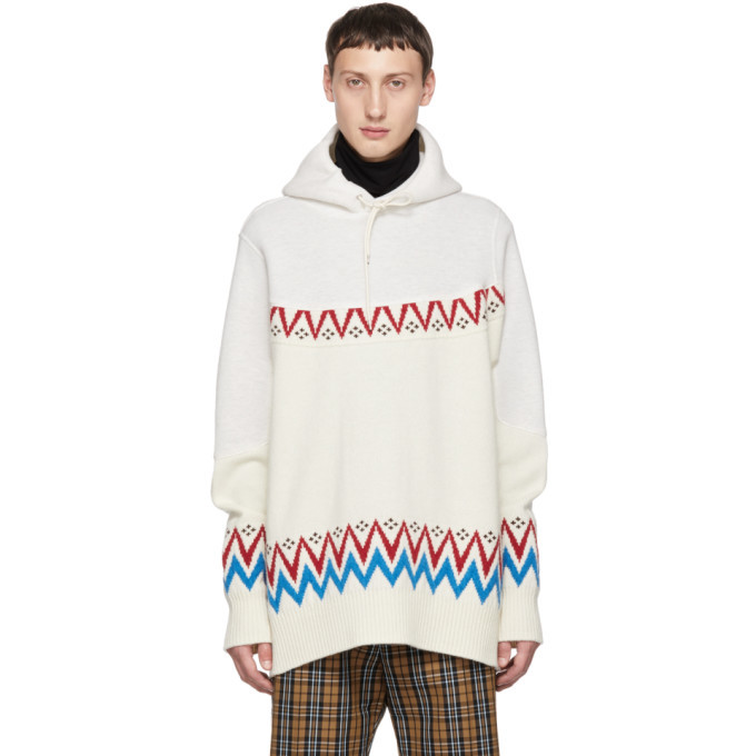 Photo: Sacai White Nordic Hoodie