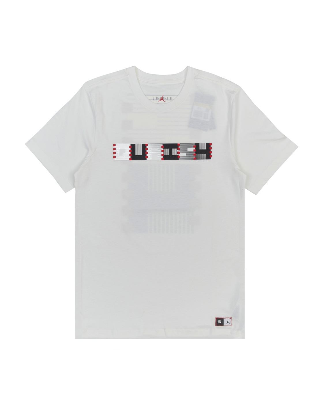 Photo: Nike Jordan Quai 54 Logo T Shirt White