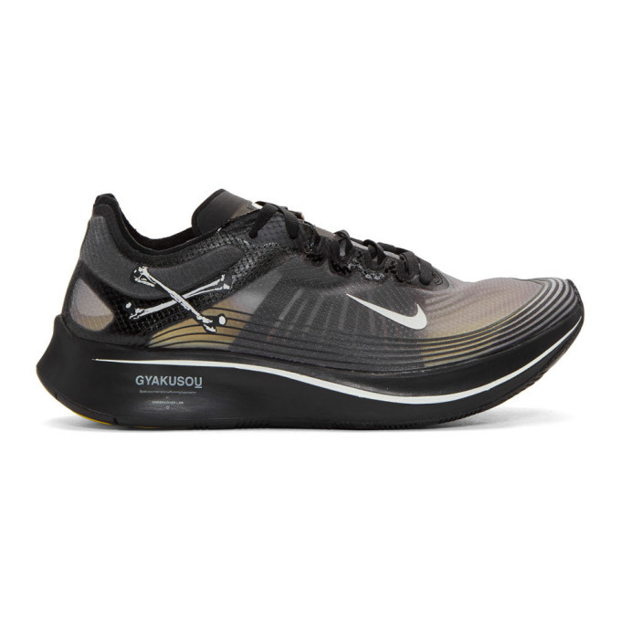 Photo: Nike Black Undercover Edition Zoom Fly Gyakusou Sneakers
