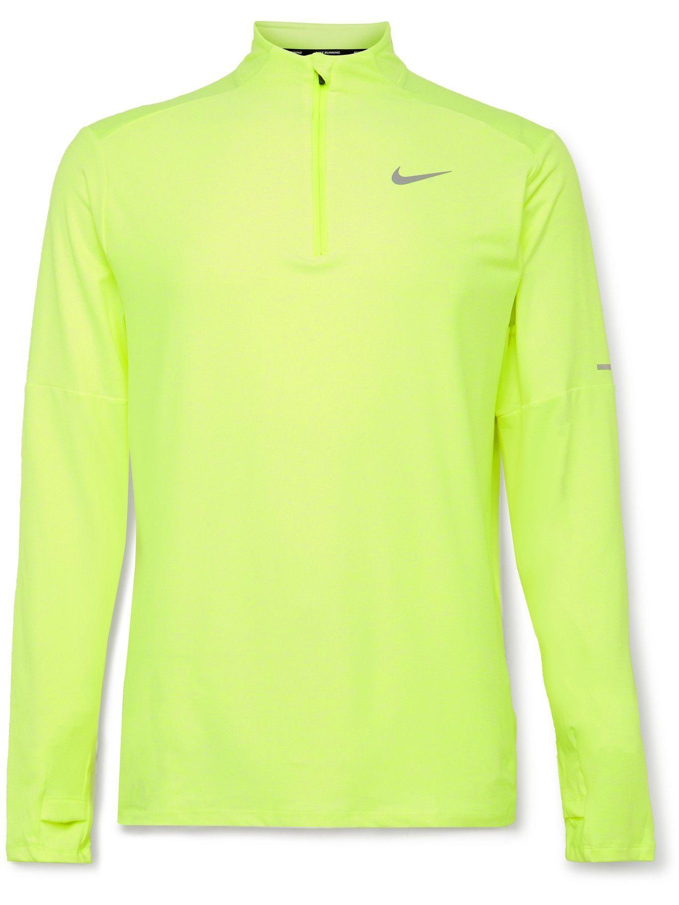 Photo: Nike Running - Element Dri-FIT Half-Zip Top - Yellow