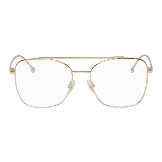 Photo: Fendi Gold Forever Fendi 0354 Glasses