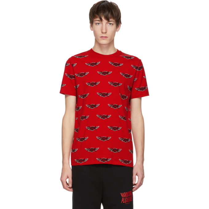 Photo: McQ Alexander McQueen Red Racing T-Shirt