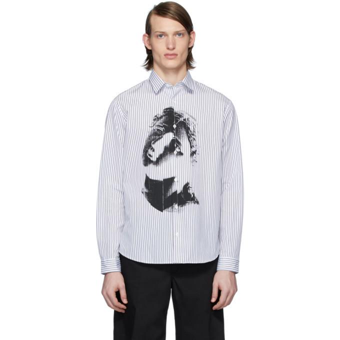 Photo: McQ Alexander McQueen White and Black Sheehan 20 Shirt