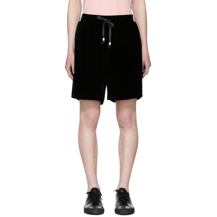 Photo: Stolen Girlfriends Club Black Velvet Volley Shorts