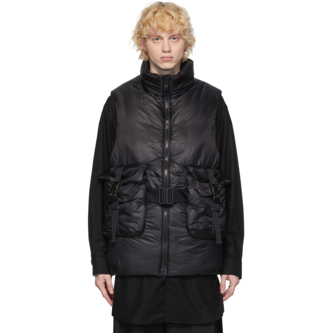 Photo: Y-3 Black CH3 Puffy Vest