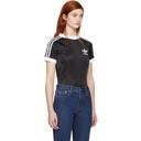 adidas Originals Black Styling Complements Football T-Shirt