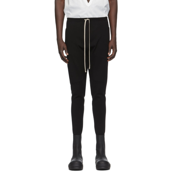 Photo: Rick Owens Black Performa Track Pants