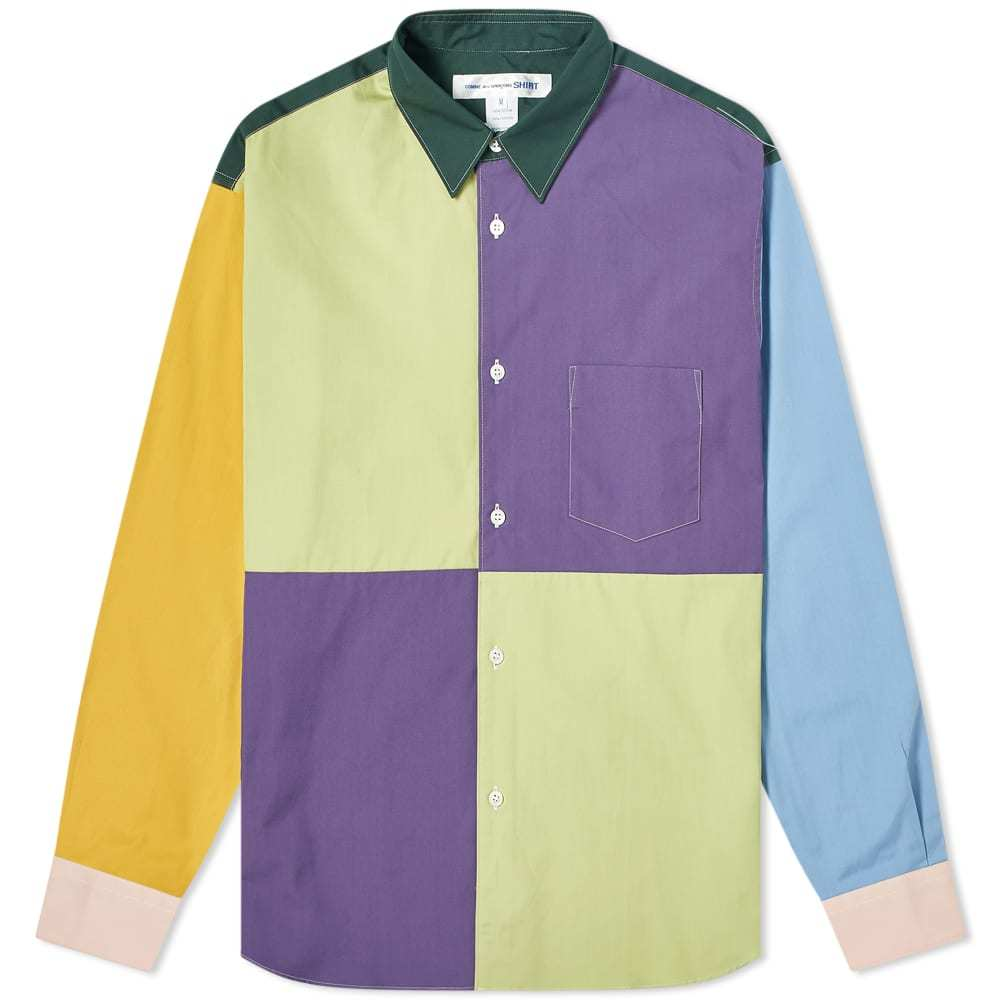 Photo: Comme des Garcons SHIRT Colour Block Shirt