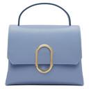 3.1 Phillip Lim Blue Mini Alix Top Handle Satchel