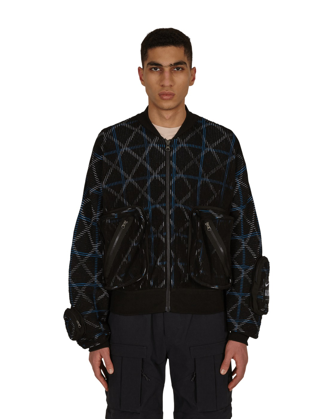 Nike Special Project Undercover Knit Ma 1 Jacket Black