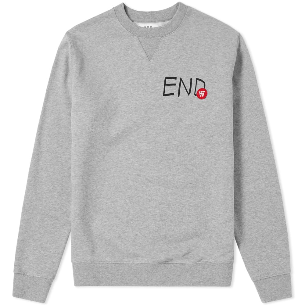 END. x Wood Wood Tye Logo Sweat