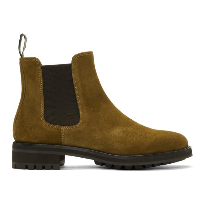 Photo: Polo Ralph Lauren Brown Suede Bryson Chelsea Boots