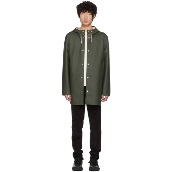 Photo: Stutterheim Green Stockholm Raincoat
