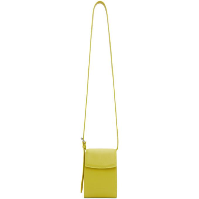 Photo: Balenciaga Green Phone Holder Bag