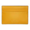 Smythson Yellow Wigmore Card Holder